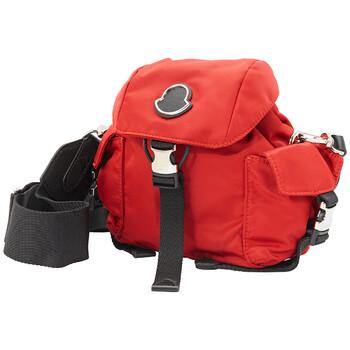 Moncler màu đỏ Dauphine Mini Túi đeo chéo Chính hãng từ Mỹ
