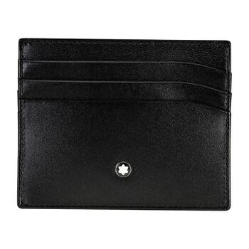 Montblanc Meisterstuck Selection màu đen Da Pocket màu đỏ Card Holder 106653 chính hãng đang sale giảm giá ở Hà nội TPHCM