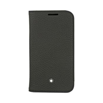 Montblanc Meisterstuck màu đen Soft Grain Da Case for Samsung III 111237 Chính hãng từ Mỹ