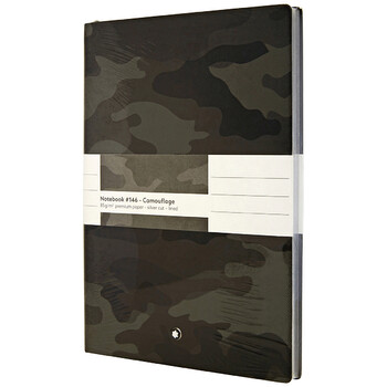Montblanc Fine Stationery Notebook - Camouflage Grey