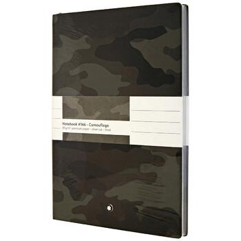 Montblanc Fine Stationery Notebook - Camouflage Grey Chính hãng từ Mỹ