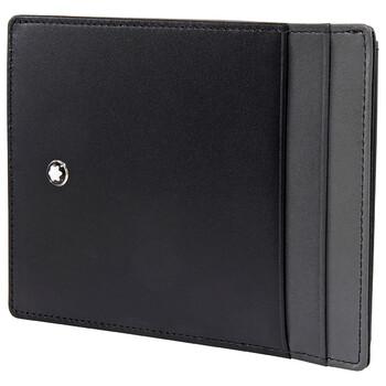 Montblanc Meisterstuck màu đen đựng thẻ 126214 Chính hãng từ Mỹ