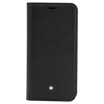 Montblanc Meisterstuck Soft Grain Flip Side Cover for Apple Iphone XS 124893 chính hãng đang sale giảm giá ở Hà nội TPHCM