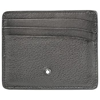Montblanc Meisterstuck Sfumato Grey Ví 6 màu đỏ Cards 118365 chính hãng đang sale giảm giá ở Hà nội TPHCM