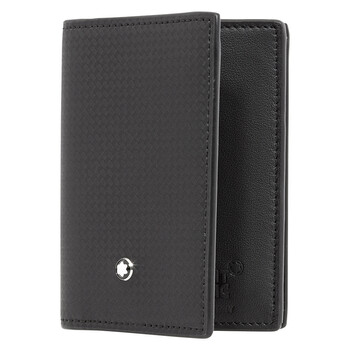 Montblanc Extreme 2.0 Business Card Holder with View Pocket - màu đen