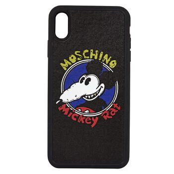 Moschino Nữ Iphone XS And XS Max Mickey Rat Phone Case chính hãng đang sale giảm giá ở Hà nội TPHCM
