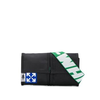Off-White màu đen / màu xanh lá Two - pocket Túi đeo thắt lưng Chính hãng từ Mỹ