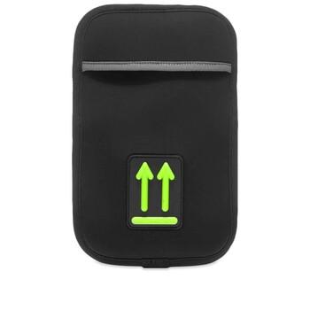 Off-White màu đen Tech Phone Arm Pouch Chính hãng từ Mỹ