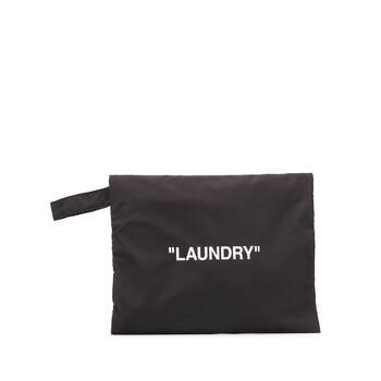 Off-White màu đen / màu trắng Laundry Pouch Chính hãng từ Mỹ