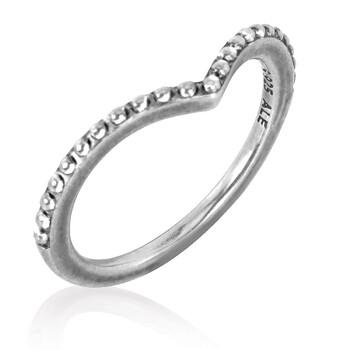 Trang sức Pandora Beaded Wishbone Nhẫn Bạc 925