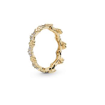 Trang sức Pandora Nữ Flower Crown Shine Nhẫn Size 52 chính hãng sale giảm giá sỉ rẻ nhất ở Hà nội TPHCM