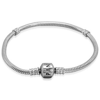 Trang sức Pandora Moments Snake Chain Vòng đeo tay Bạc 925