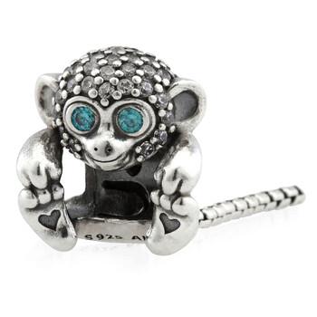 Trang sức Pandora Pave Monkey Charm Bạc 925 chính hãng sale giá rẻ Hà nội TPHCM