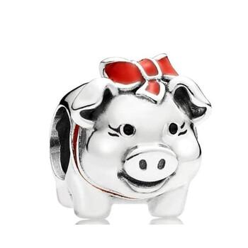 trang sức Pandora Piggy Bank Silver Charm chính hãng sale giá rẻ tại Hà nội TPHCM
