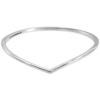 Trang sức Pandora Bạc 925 Wishbone Bangle chính hãng sale giá rẻ Hà nội TPHCM