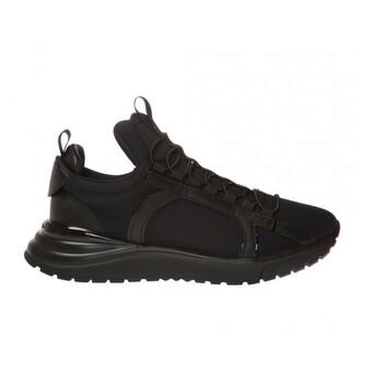 Giày Salvatore Ferragamo nữ Gancini Sneakers màu đen chính hãng