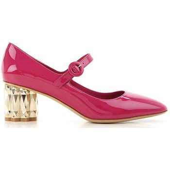 Giày Salvatore Ferragamo Ortensia Pumps màu hồng chính hãng