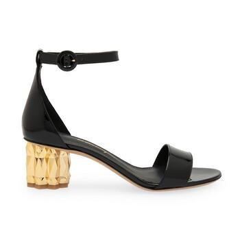 Giày Salvatore Ferragamo Refracted Heel 55 mm Leather Sandals chính hãng sale giá rẻ