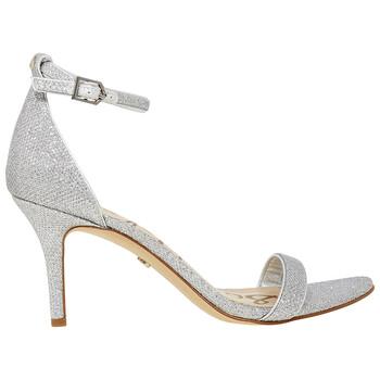 Giày Sam Edelman nữ Silver Sandal 1Band Glam Mesh chính hãng