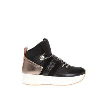 Giày See By Chloe nữ màu đen Hightop Platform Sneakers chính hãng sale giá rẻ
