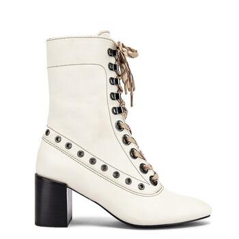 Giày See By Chloe nữ Calf Leather Sophia Boots chính hãng