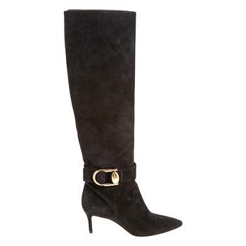 Giày Stella Luna nữ Dragonflies - Fly màu đen 65 Knee Boot Sue Lrg Buck chính hãng
