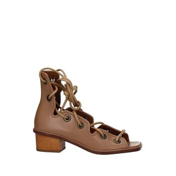 Giày Stella Mccartney nữ Soft Camel Strap Sandals chính hãng sale giá rẻ