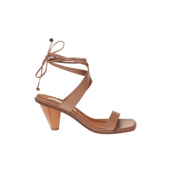 stella mccartney soft camel rhea heeled sandals 800183 w1tv0 9840