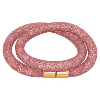 Trang sức Swarovski Stardust Pink Double Vòng đeo tay 5102556 chính hãng sale giá rẻ Hà nội TPHCM