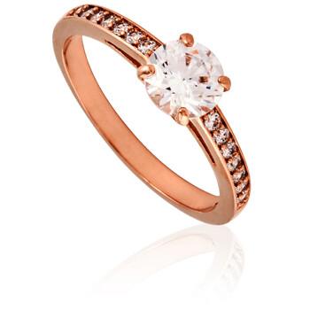 Trang sức Swarovski Attract Round Vàng hồng Nhẫn- Size 58 chính hãng sale giá rẻ Hà nội TPHCM