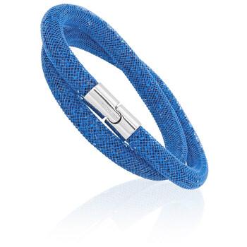 Trang sức Swarovski Stardust Capri Blue Nữ Double Vòng đeo tay 5186426 chính hãng sale giá rẻ Hà nội TPHCM