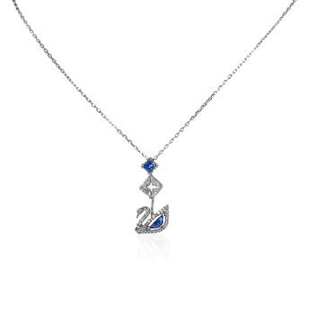 Trang sức Swarovski Dazzling Silver/Blue Swan Dây chuyền (vòng cổ) chính hãng sale giá rẻ Hà nội TPHCM