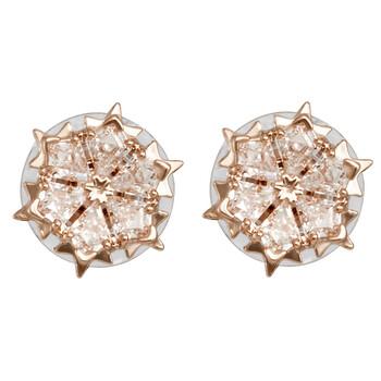 trang sức Swarovski Vàng hồng-mạ Magic Pierced Bông tai (khuyên tai, hoa tai) chính hãng sale giá rẻ tại Hà nội TPHCM