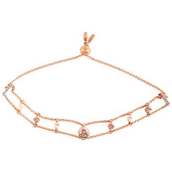 Trang sức Swarovski Nữ Vàng hồng Tone mạ One Size Vòng đeo tay chính hãng sale giá rẻ Hà nội TPHCM
