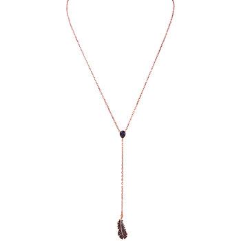 Trang sức Swarovski mạ Vàng hồng Naughty Y Dây chuyền (vòng cổ) chính hãng sale giá rẻ Hà nội TPHCM