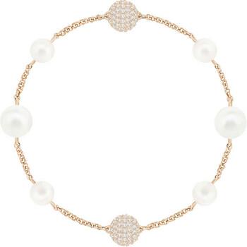 Trang sức Swarovski Remix Collection Mixed White Crystal Pearl Vòng đeo tay chính hãng sale giá rẻ Hà nội TPHCM