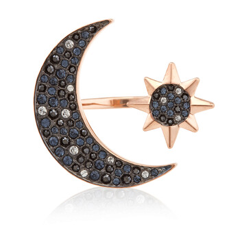 Trang sức Swarovski Rose-gold Tone mạ Symbolic Moon Nhẫn