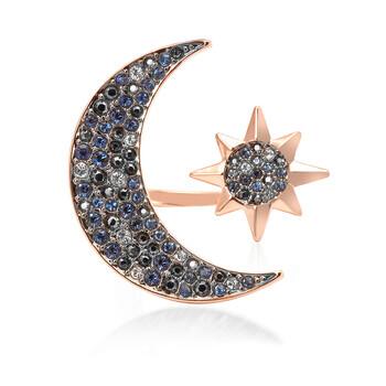 Trang sức Swarovski Rose-gold Tone mạ Symbolic Moon Nhẫn, Size 55 chính hãng sale giảm giá sỉ rẻ nhất ở Hà nội TPHCM