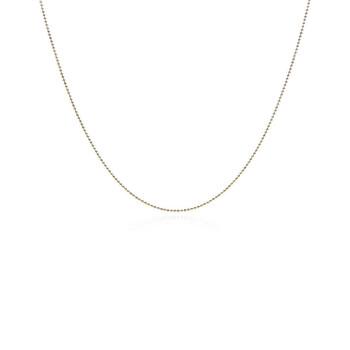 Trang sức Tiffany & Co. 18k Gold Beaded Chain chính hãng sale giá rẻ Hà nội TPHCM