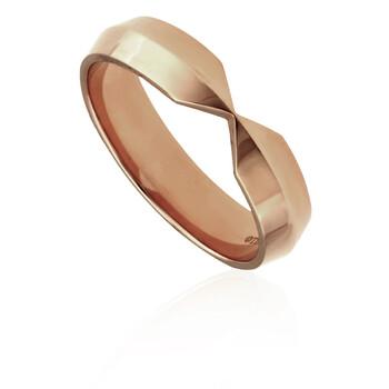Trang sức Tiffany & Co. Vàng hồng 18K Nesting Wide Band Nhẫn chính hãng sale giá rẻ Hà nội TPHCM