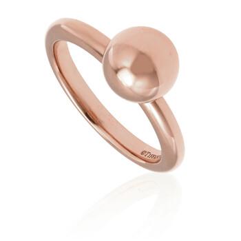 Trang sức Tiffany & Co. 18kt Vàng hồng Ball Nhẫn- Size 5 chính hãng sale giá rẻ Hà nội TPHCM