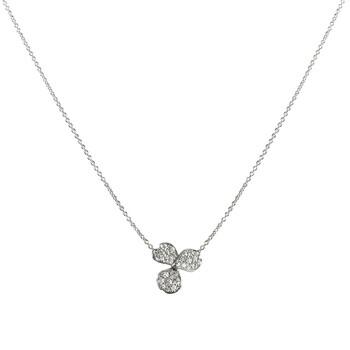 Trang sức Tiffany & Co. Nữ Tiffany Paper Flowers Pave Kim cương Flower Pendant chính hãng sale giá rẻ Hà nội TPHCM