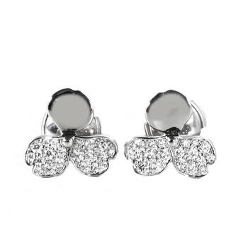 Trang sức Tiffany & Co. Kim cương Flower Bông tai (khuyên tai