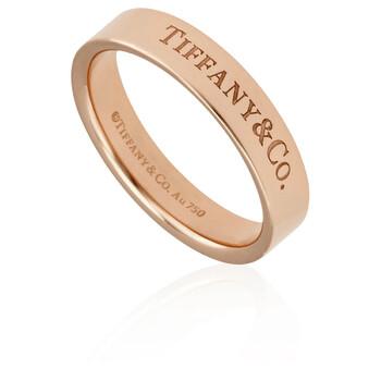 Trang sức Tiffany & Co. & Co. Vàng hồng 18K 4 MM Band Nhẫn chính hãng sale giá rẻ Hà nội TPHCM