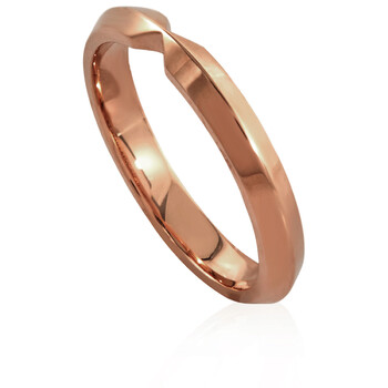 Trang sức Tiffany & Co. & Co. Vàng hồng 18K The Tiffany Setting Nesting Narrow Band Nhẫn