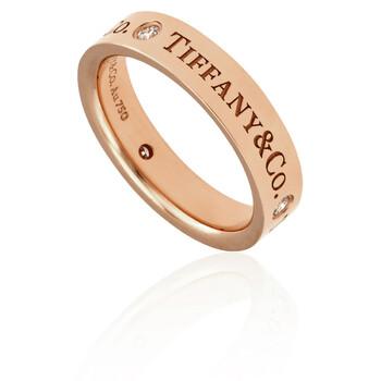 Trang sức Tiffany & Co. & Co. 18KT Vàng hồng Band Nhẫn chính hãng sale giá rẻ Hà nội TPHCM