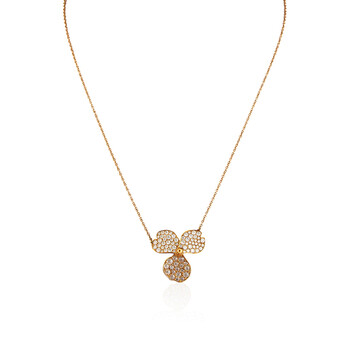 Trang sức Tiffany & Co. & Co. Tiffany Paper Flowers Kim cương Flower Pendant chính hãng sale giá rẻ Hà nội TPHCM