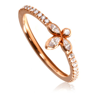 Trang sức Tiffany & Co. Nữ Fleur De Lis Band Nhẫn