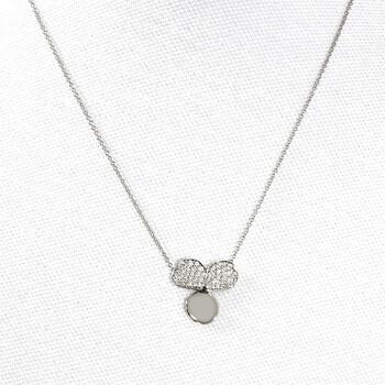 Trang sức Tiffany & Co. Nữ Kim cương Flower Pendant chính hãng sale giá rẻ Hà nội TPHCM