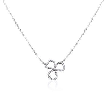 Trang sức Tiffany & Co. Nữ Tiffany Paper Flowers Kim cương Open Flower Pendant chính hãng sale giá rẻ Hà nội TPHCM